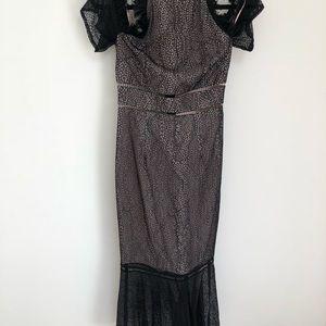 Keepsake the Label Slide Lacr Dress in Black SizeS